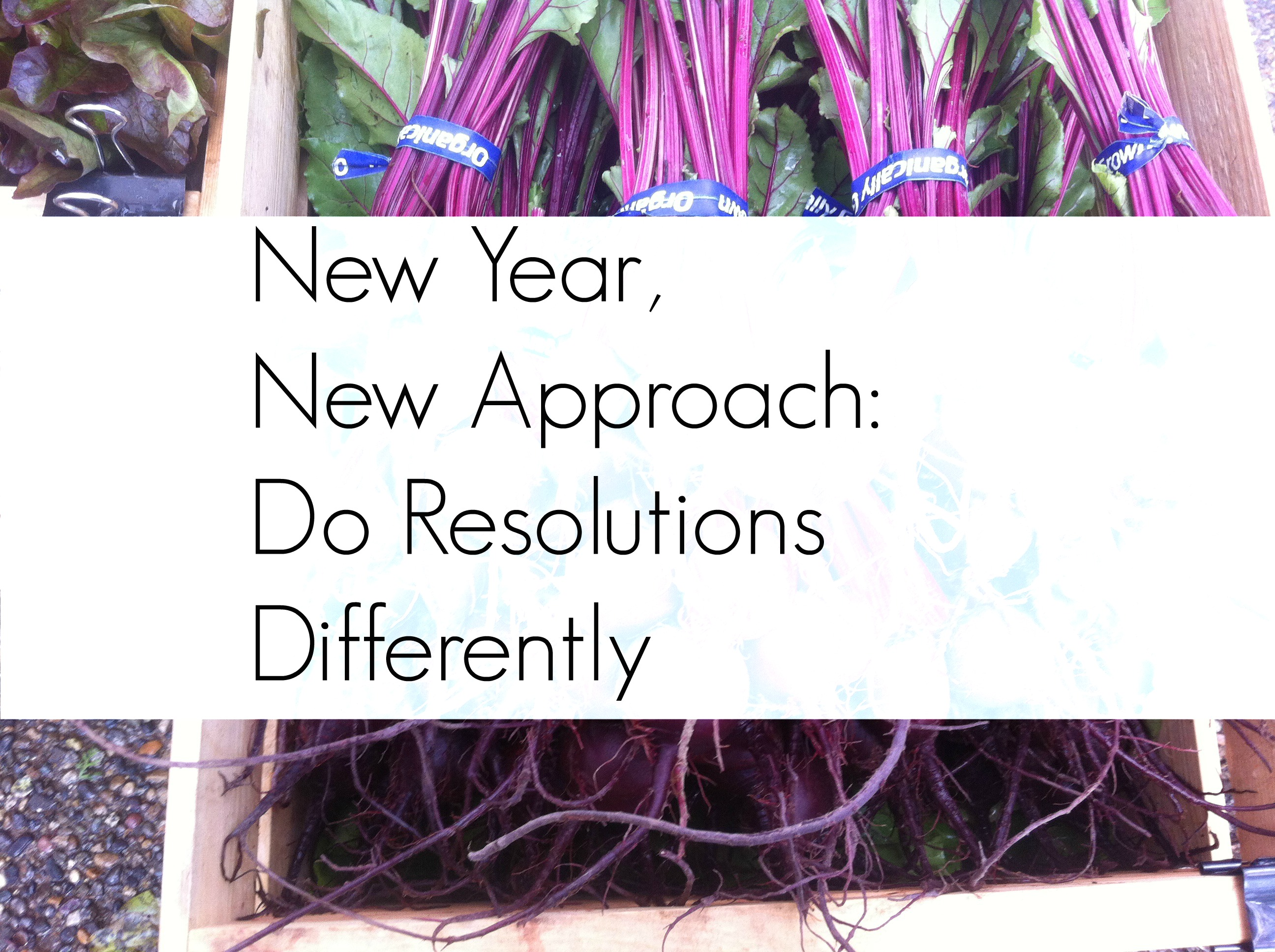 New Year, New Approach: Do Resolutions Differently