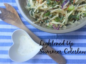 Lightened Up Creamy Coleslaw from Westcoast Nutrition