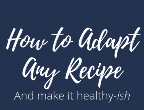 3 Steps to Adapt Any Recipe to Fit Your Nutrition Goals